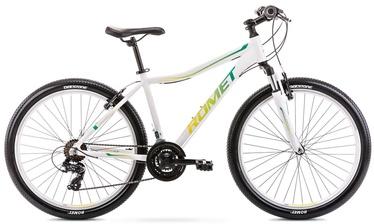 """Jalgratas Romet Jolene 6.0 2126201, valge/roheline, 15"""", 26"""""""