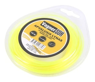 Vagner Trimmer Line 2.4mm 15m Round Yellow