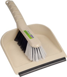 Spontex 2in1 Dust Pan And Brush Set