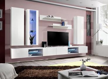 ASM Fly Q4 Living Room Wall Unit Set White