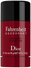 Meeste deodorant Christian Dior Fahrenheit, 75 ml