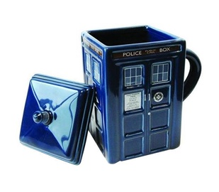 Zeon BBC Doctor Who Tardis Ceramic 3D Mug DR87