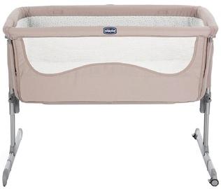 Детская кровать Chicco Next2Me Beige, 93x69 см