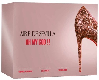 Instituto Español Aire De Sevilla Oh My God 150ml EDT + 150ml Body Cream + 150ml Shower Gel