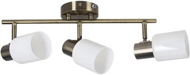 Verners Erlend 73772-3 Ceiling Lamp 3x60W E27 Brass