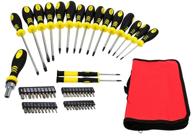 Geko Screwdriver And Bit Set 59pcs