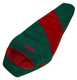 Magamiskott O.E.Camp Minto RD-SB20N Green/Red, parem, 210 cm