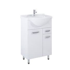 Elita Bathroom Cabinet Eve With Sink White
