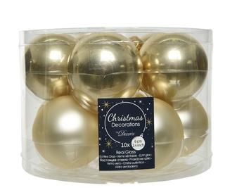 Jõulupuu ehe Kaemingk 140474 Champagne, 60 mm, 10 tk