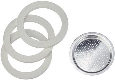 Bialetti 0800004 3 Gasket + 1 Filter Bialetti Moka Express 6 Cups