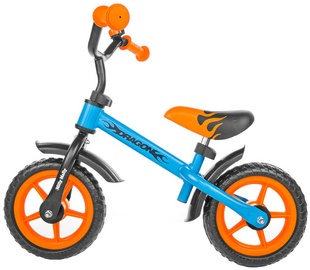Lastejalgratas Milly Mally DRAGON Balance Bike Orange/Blue 1445