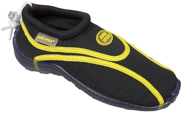 Aqua Speed Beach 09 Black Yellow 43