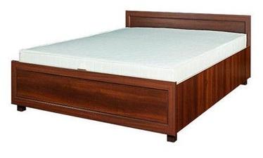 Bodzio Grenada G49 Bed w/ Mattress 120x200 Walnut