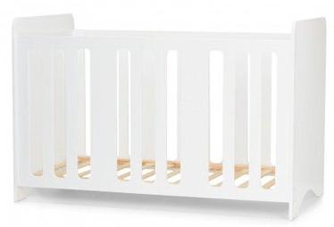 Lastevoodi KinderKraft Stello White, 123x63 cm