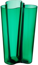 Iittala Alvar Aalto Collection Vase 251mm Emerald