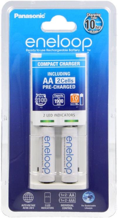 Panasonic Basic Charger 2xAA 1900 mAh