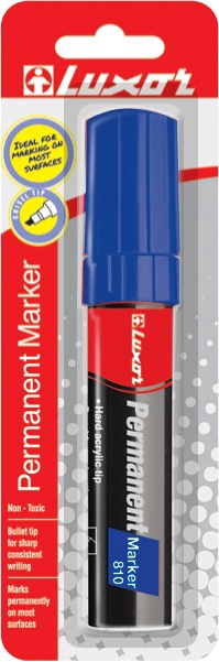 Luxor Permanent Marker Red 810