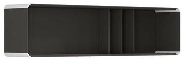 Black Red White Possi Light Cupboard 160x40cm Gray Tungsten/White