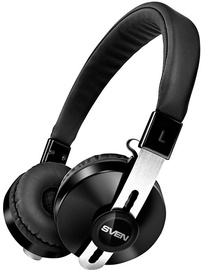 Sven AP-B350MV On-Ear Bluetooth Headphones Black