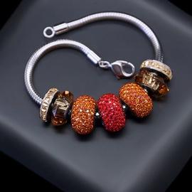 Diamond Sky Bracelet Becharmed Pavé Mini IV With Swarovski Beads