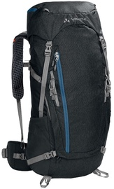 Vaude Asymmetric 42+8 Black/Blue