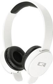 Qoltec Bluetooth On-Ear Headphones White