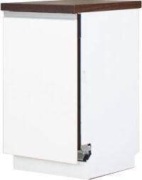 Bodzio Dishwasher Cabinet Front Panel Sandi 45cm White