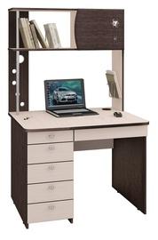DaVita Orion 8.10 Desk Wenge Oak/Koburg Oak