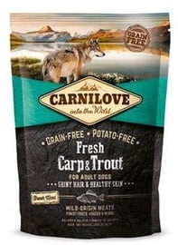 Carnilove Adult Dog Breeds Fresh Carp & Trout 1.5kg