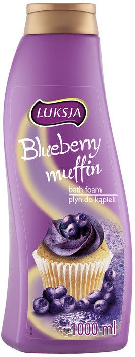 Luksja Blueberry Muffin Bath Foam 1000ml