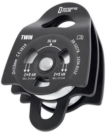 Singing Rock Pulley Twin Roll Black