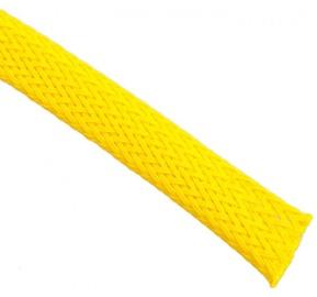 Techflex Flexo PET Sleeve 9mm Neon Yellow 1m