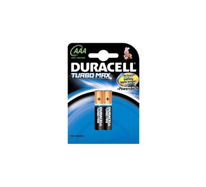 Duracell Alkaline Batteries AAA 1.5V 2pcs