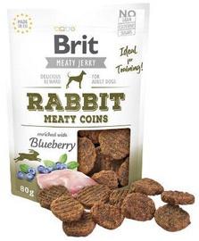 Brit Jerky Rabbit Meaty Coins delikatese 80g