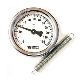 Termomeeter vedruga 63MM 0-120°C (WATTS)