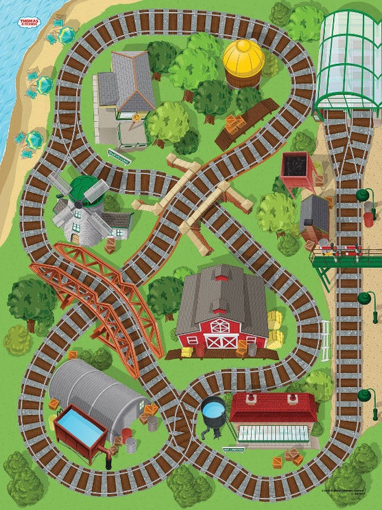 TCG Thomas & Friends Original Mega Mat 72010
