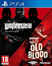 Wolfenstein Double Pack: The New Order and The Old Blood PS4