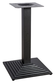 Home4you Raft Table Stand 45x45x72.5cm Black