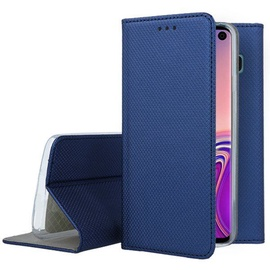 Mocco Smart Magnet Book Case For Samsung Galaxy S10 Plus Blue