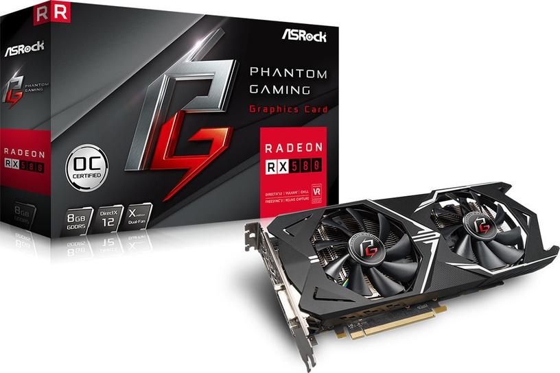 ASRock Phantom Gaming X Radeon RX580 OC 8GB GDDR5 PCIE 90-GA0000-00UANF