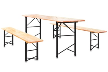 Комплект уличной мебели 12180 Yellow/Brown
