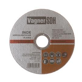 Lõikeketas Vagner 125x1.2x22.23mm, Inox