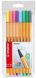 Stabilo Point 88 8pcs Pastel