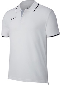 Nike Men's T-Shirt Polo Team Club 19 SS AJ1502 100 White L