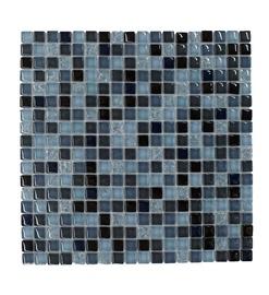 SN Mosaics A2057 Blue/Black 30x30cm