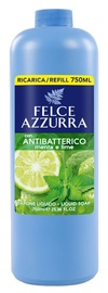Felce Azzurra Antibacterial Mint And Lime Liquid Soap Refill 750ml