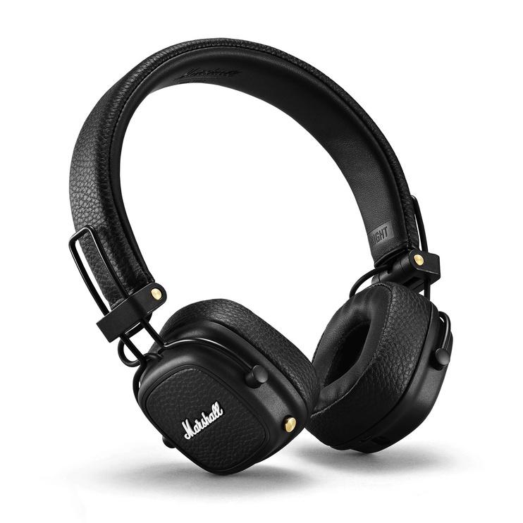 Kõrvaklapid Marshall Bluetooth Major III, juhtmevabad