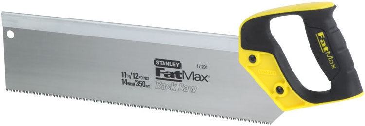 Stanley FatMax Back Saw 350mm