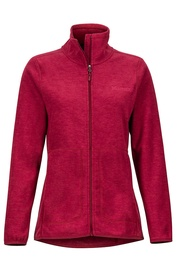Marmot Womens Fleece Jacket Pisgah Claret L