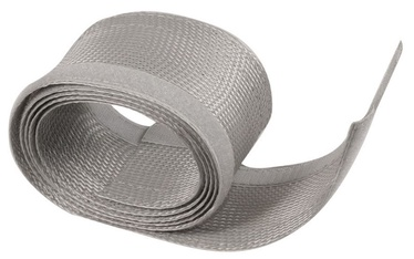 Maclean Cable Cover 1.8m Silver